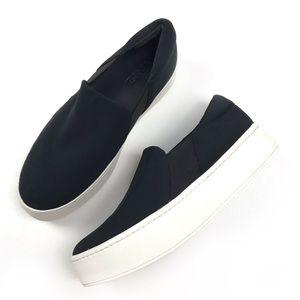 VINCE warren Slip on platform sneakers black